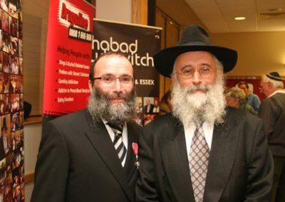 Rabbi Sufrin MBE 2009
