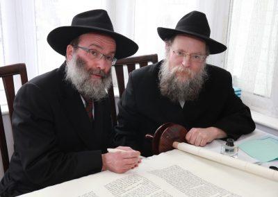 Dedication Ceremony of a new Sefer Torah in Treasured Memory of Rabbi Muller