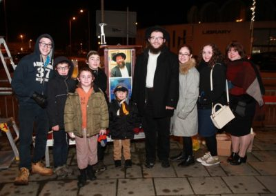 Chanukah Fulwell Cross 2016 In Memory Of Rabbi Moshe Muller