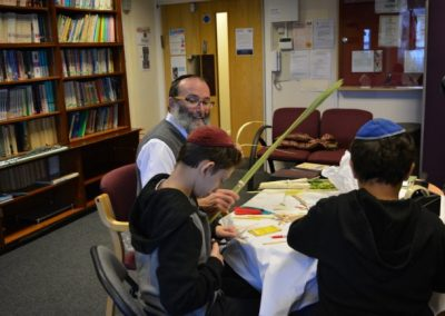 Getting Readu For Sukkot (10)