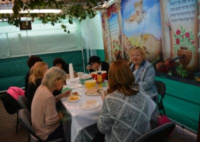 Soup and Sushi in the Sukkah (2)
