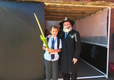 Sukkot at Kantor King Solomon