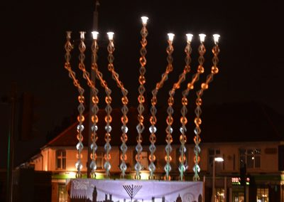 Chanukah 2019 Menorah Lighting -Gants Hill
